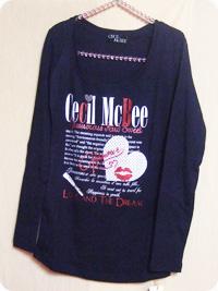 セシルマクビー福袋 / ロングTシャツ