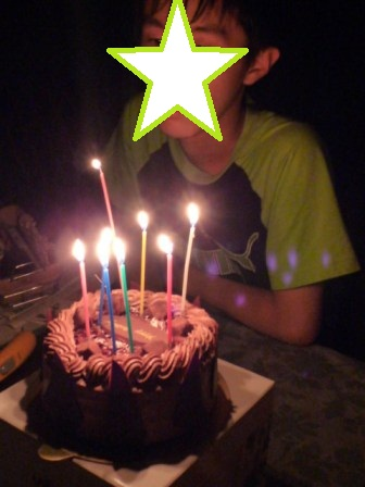 兄ちゃん誕生日17歳