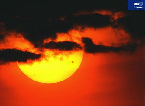 金星日面通過1