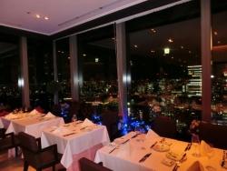 レストラン モナリザ 丸の内店からの夜景(池袋方面)
