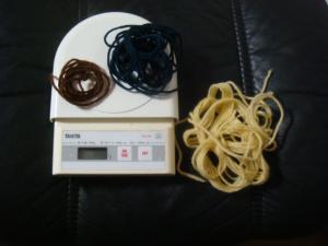 1.毛糸の靴下b