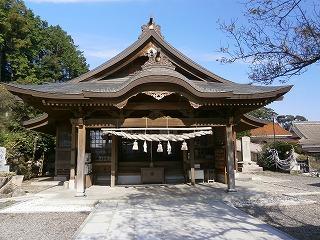益田柿本拝殿