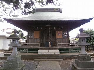 御嶽神社社殿
