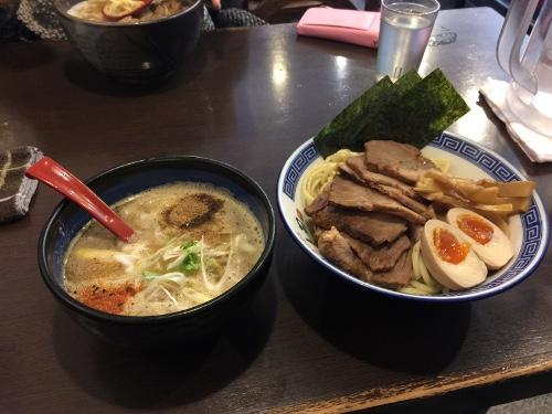 眞司其の二つけ麺