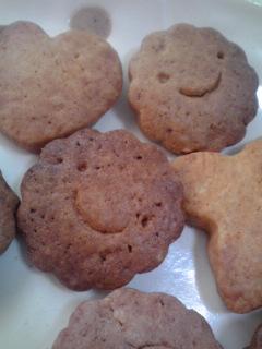 はじめてクッキー