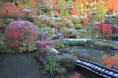 長興寺_初雪と紅葉
