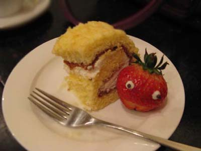 フェルトカフェケーキ