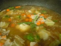 スープの具