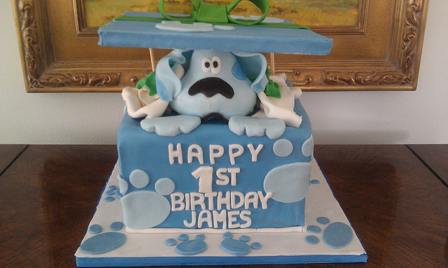 Fancy blues clues cake decorations ideas photo png