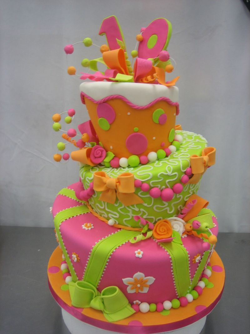 Birthday Cake Decor Ideas : Easy Cake Decorating Ideas   Cake Decoration Tips and ...