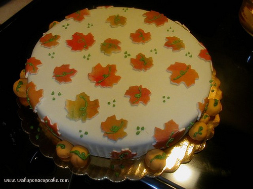 Fall cake decorating ideas it for few hours before assembling it fall