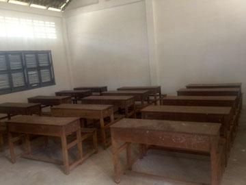 ワットチャス小学校建設