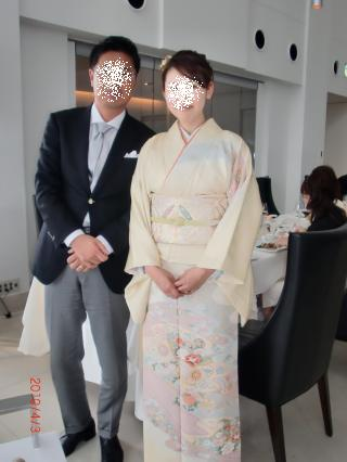 結婚式コーデ
