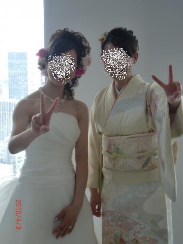結婚式コーデ3