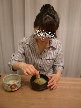 NAO★Gちゃん初めてのお抹茶