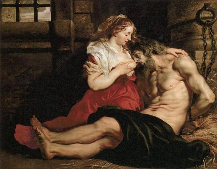 07_「ローマへの慈愛(キモンとペロ)