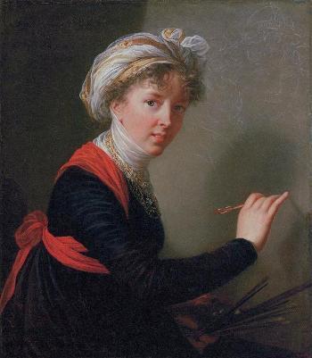 13_エリザベト=ルイーズ・ヴィジェ=ルブラン「自画像」