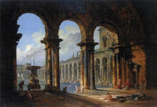 14_「古代ローマの公衆浴場跡」
