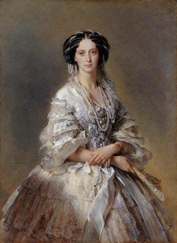 17_「女帝マリア・アレクサンドロヴナの肖像」
