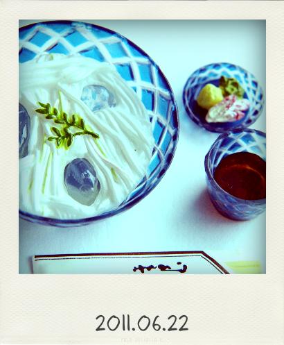 0622素麺@Pola(20110621121130)