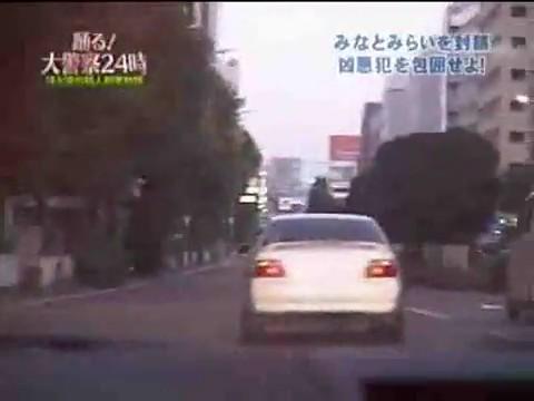 カーチェイス in 横浜みなとみらい_Car chase in Yokohama, Japan.jpg