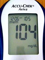 就寝前の血糖値
