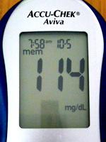 起床時の血糖値