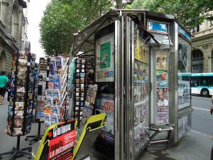 パリのキオスクparカタストロフ