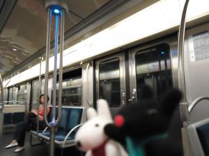 地下鉄7号線と3号線を乗り継いでparカタストロフ