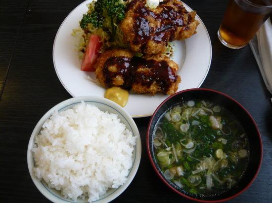 串カツ定食