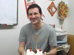 Donさん誕生日ケーキ