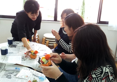 2012-10-27 14.03.49 フラワーアレンジ
