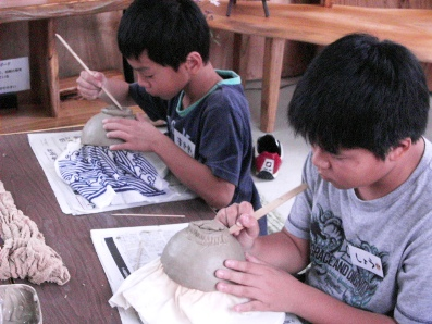 陶芸体験9