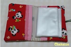 パンダのカードケース2