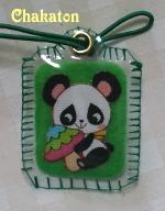 パンダのカードケース4