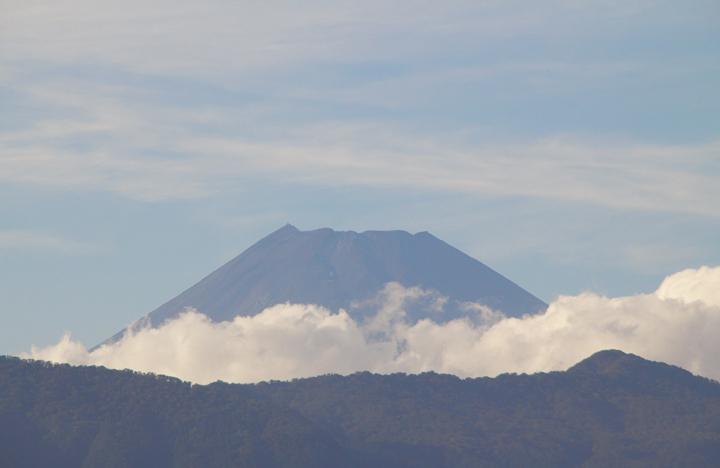 6日 16-07 今日の富士山