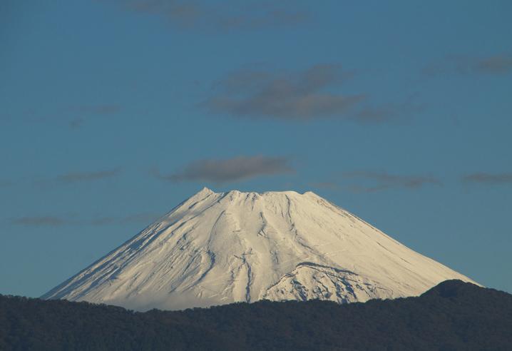 16日 7-00 今朝の富士山-6