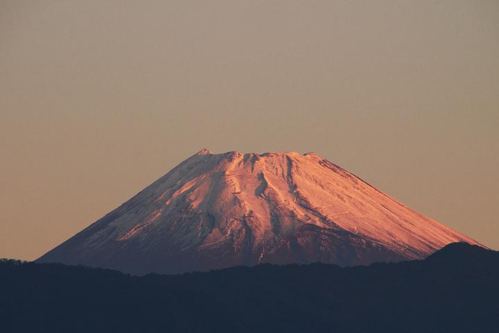 17日 6-00 今朝の富士山-3