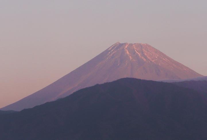 19日 6-12 今朝の富士山-5