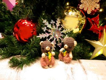 クリスマスモード。