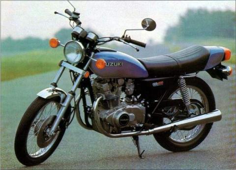 Suzuki GS400 77