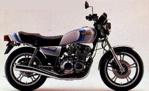 Yamaha XJ400 80