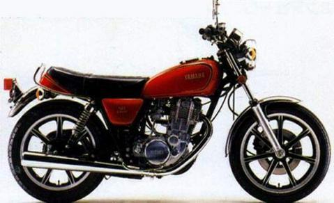 Yamaha SR400SP 80