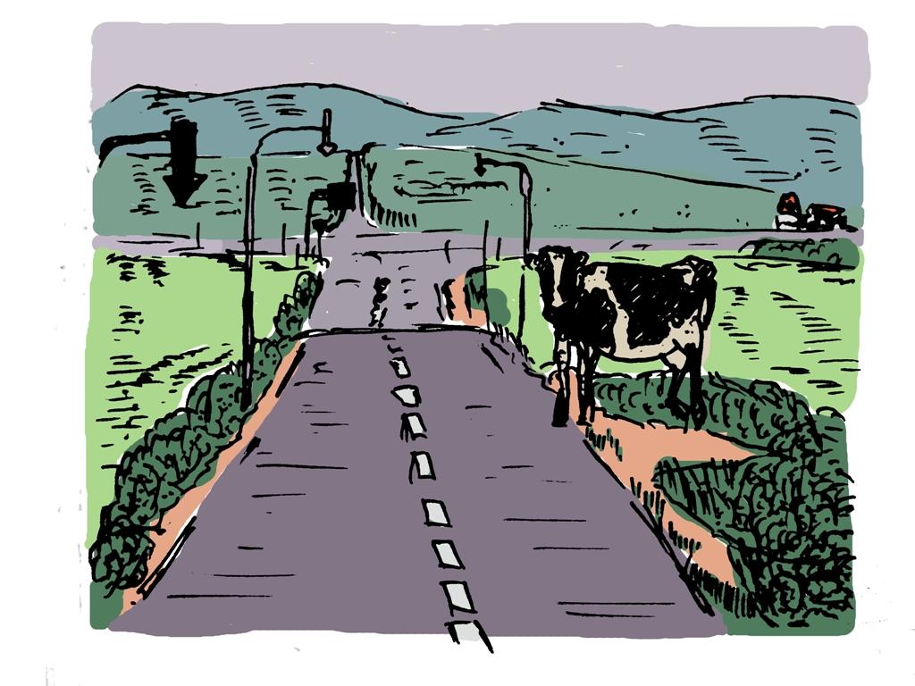 北海道牛襲来