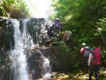 13登れる滝が続いて楽しい
