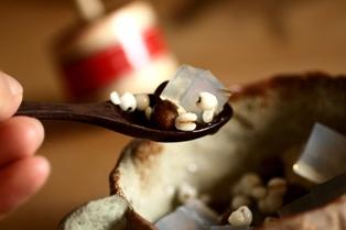 20100907 豆かんハト麦入り