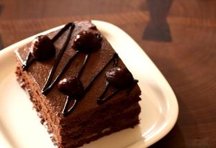 20101001 豆腐チョコケーキ