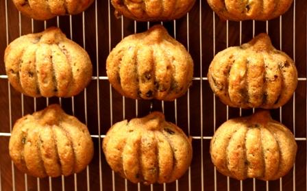 20101006 かぼちゃケーキタマゴバターなし