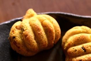 20101011 かぼちゃ米粉ケーキ
