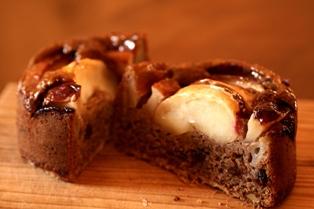 20101130 紅玉ケーキ